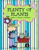 Plenty of Plants Math & Literacy Centers