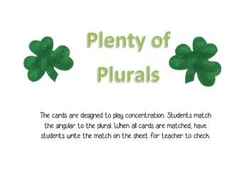 Plenty of Plurals