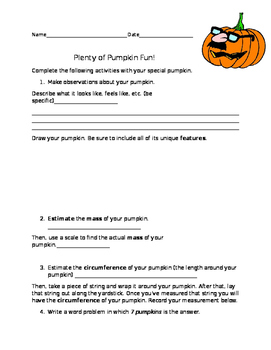 Plenty of Pumpkin Fun!