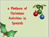 Plethora of Christmas Activities in Spanish