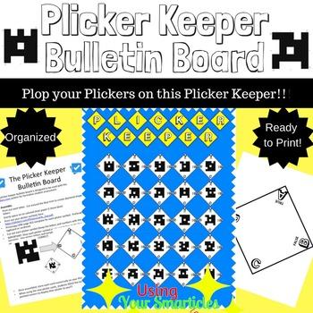 Plicker Keeper Bulletin Board Set