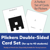 Plickers Double-Sided Card Package (Up to 40 Students)