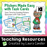 Plickers Made Easy With Task Cards (Free)