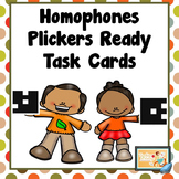 Plickers Ready Homophone Task Cards
