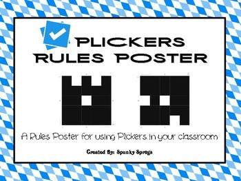 Plickers Rules Poster