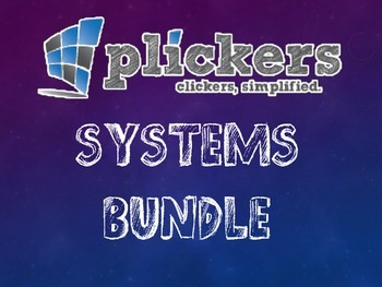 Plickers Systems of Equations Bundle