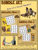 Plimoth Plantation BUNDLE SET ~ Plus One Minus One