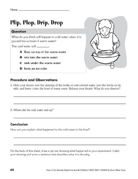 Plip, Plop, Drip, Drop