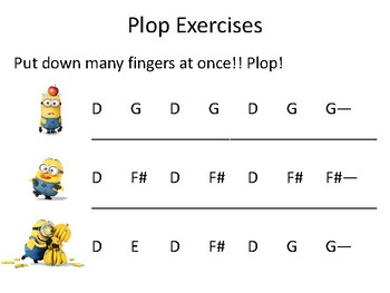 Plop! Left Hand Finger Exercises