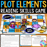 Plot Task Cards Game: Plot Elements {Exposition, Rising Action, Climax...}