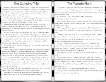 Plot Activity: 40 Plot Elements Task Cards with 8 Short Stories (Clip and Flip)