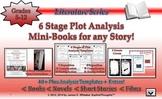 Plot 6 Stage Mini-Book Analysis Activity Common Core Literature