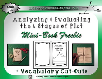 Plot 6 Stages of Plot Mini-Book Freebie