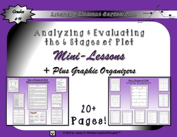 Plot 6 Stages of Plot Mini-Lessons
