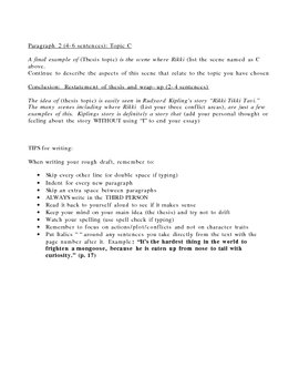Plot Analysis Essay Guide
