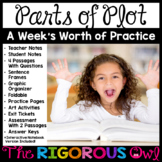 Plot Lesson and Week's Worth of Practice