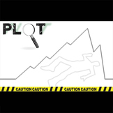 Plot Chart Diagram Arc - PowerPoint Notes Crime Scene - Fr