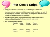 Plot Comic Strips