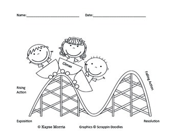 Plot Diagram (Printables and Graphic Organizer)