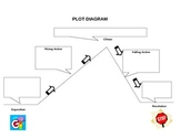 Plot Diagram Graphic Organizer - Blank