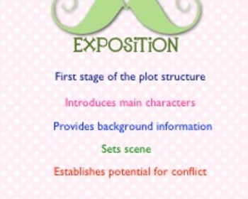 Plot Diagram Story Elements Presentation for Middle Grades