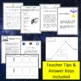 Plot Diagram, Summary, and Writing Activities