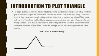 Plot Diagram Theme and Summary