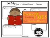 Plot Diagram / Plot Map ~ Using Nursery Rhymes with Quizes & answer keys