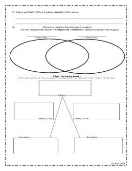 Plot Diagramming and Skill Sharpening PIXAR Activity.