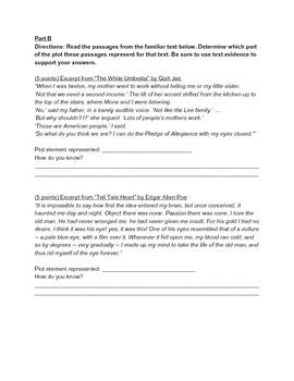 Plot Elements Assessment