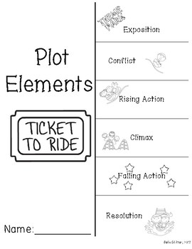 Plot Elements Foldable