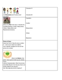 Plot Elements Graphic Organizer for