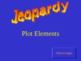 Plot Elements interactive Jeopardy game
