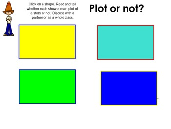 Plot: Elements of Fiction SMART Board Lesson on Plot