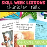 Character Traits, Motivations, & Feelings Full Lesson Plan