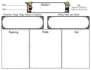 Plot - Graphic Organizer