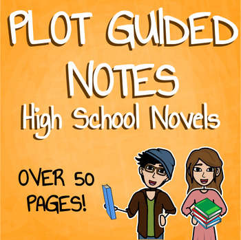 Plot Guided Notes for High School Novels Bundle