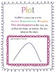Plot Handout or Notebook Page