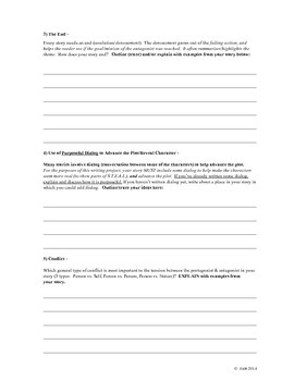 Plot Idea Reporting Form - Formative Assessment