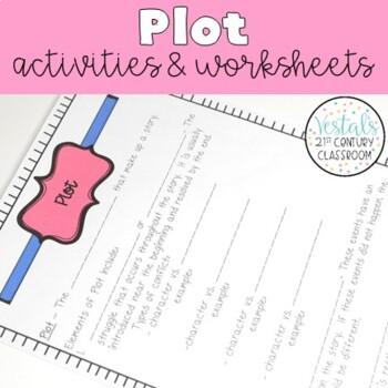 Plot Interactive Notes & Worksheets