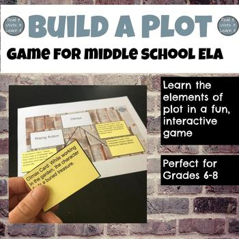 Plot Line Game for grades 6-8
