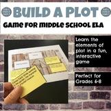 Plot Line Game for grades 6-8