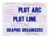 Plot Line/Arc Graphic Organizers Pack EXPANDED & UPDATED for 2018