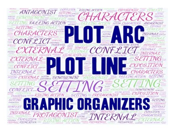 Plot Line (Plot Arc) Graphic Organizer with Notes