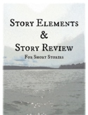 Plot Line - Story Elements and Story Review - Close Reading