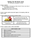 Plot, Main Idea, and Sequence of Events Assessment and Study Guide