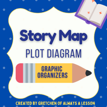 Plot Diagram Story Map Graphic Organizer