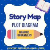Plot Diagram Story Map Graphic Organizer