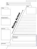 Plot Map Graphic Organizer Handout Story Map Elements Lesson Plan