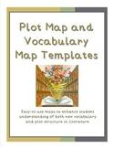 Plot Map and Vocabulary Semantic Map